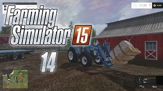 Let's Play Farming Simulator 15 (Gameplay | Walkthrough) Episode 14: Fork Lift!