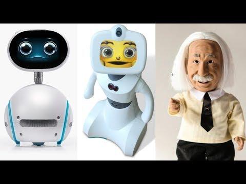Top 10 Social Family ROBOTS | Best Social Robots 2017 - Tech Zone