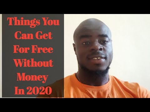 Things To Get For Free Without Money In 2020