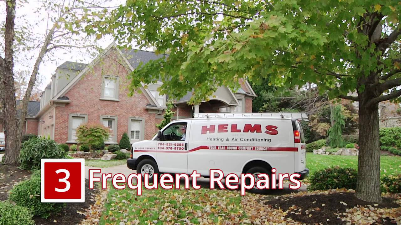 Four Signs You Need To Replace Your Hvac System Charlotte Nc Helms Heating And Air Conditioning