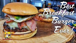 Best Breakfast Burger Ever!