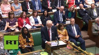 Jeremy Corbyn reminds Theresa May of her legacy at last #PMQs