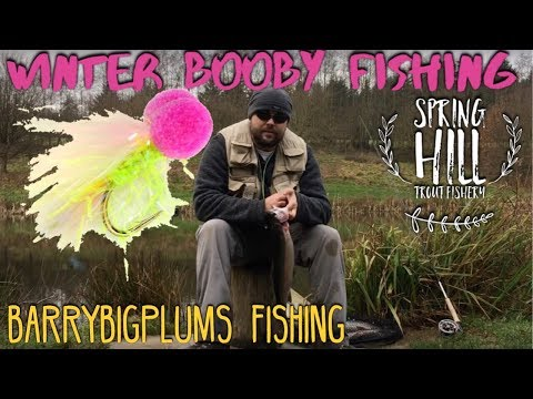 Winter Booby Fishing - Spring Hill Trout Fishery