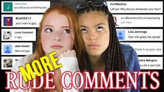 Reading Mean Comments / More Rude Comments from Haters on YouTube | NiliPOD