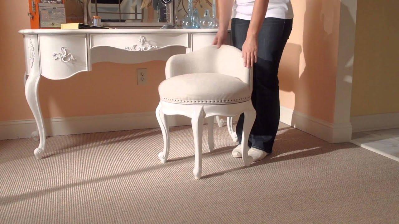 Bellamy Swivel Vanity Seat From Smartstuff Furniture