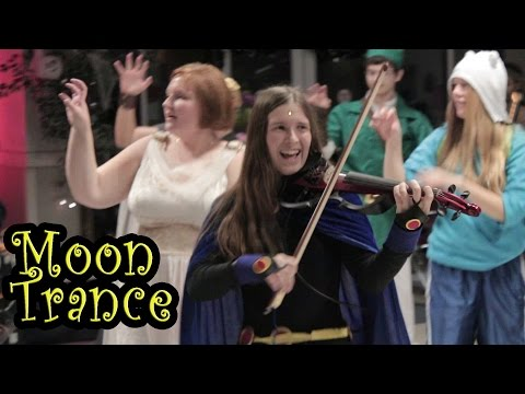 Moon Trance Flash Mob- Lindsey Stirling Cover