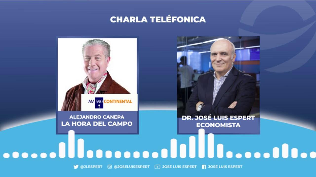 José Luis Espert con Alejandro Canepa en La Hora Del Campo - Radio Continental - 10/10/2020