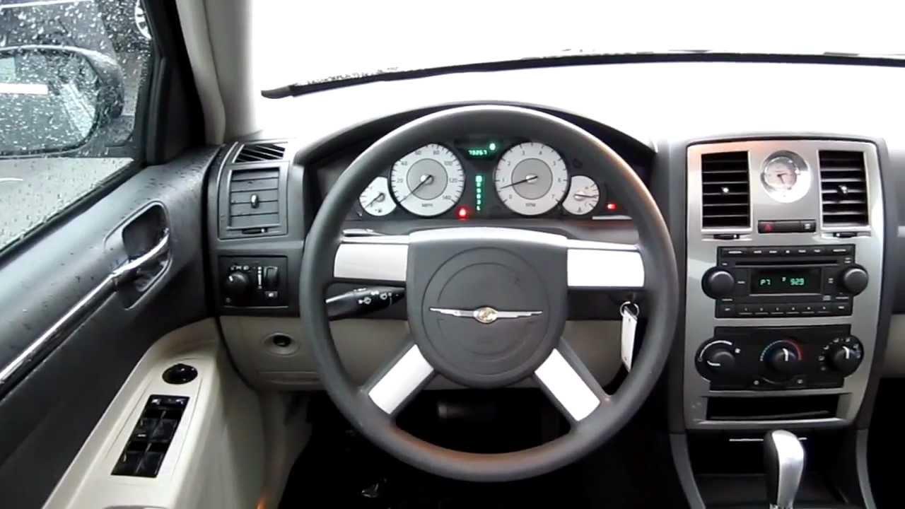 2005 chrysler sebring sedan interior