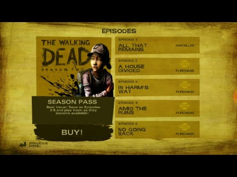 [NO ROOT] How To Unlock The All Episodes Of The Walking Dead Season Two