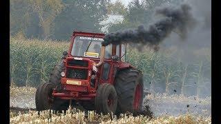 Volvo BM 810 Turbo & John Deere 4240 Going Crazy at Speed Ploughing in Sweden | Farming Sweden