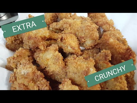 Homemade Chicken Nuggets(EXTRA crunchy!)