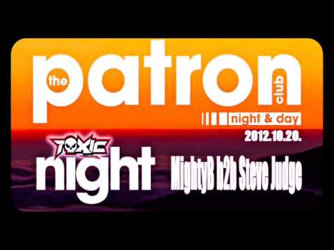MightyB b2b Steve Judge live at Toxic in Club Patron 2012.10.20.