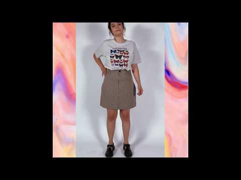 LEPIDOPTERA t-shirt - mescla clara (unissex)
