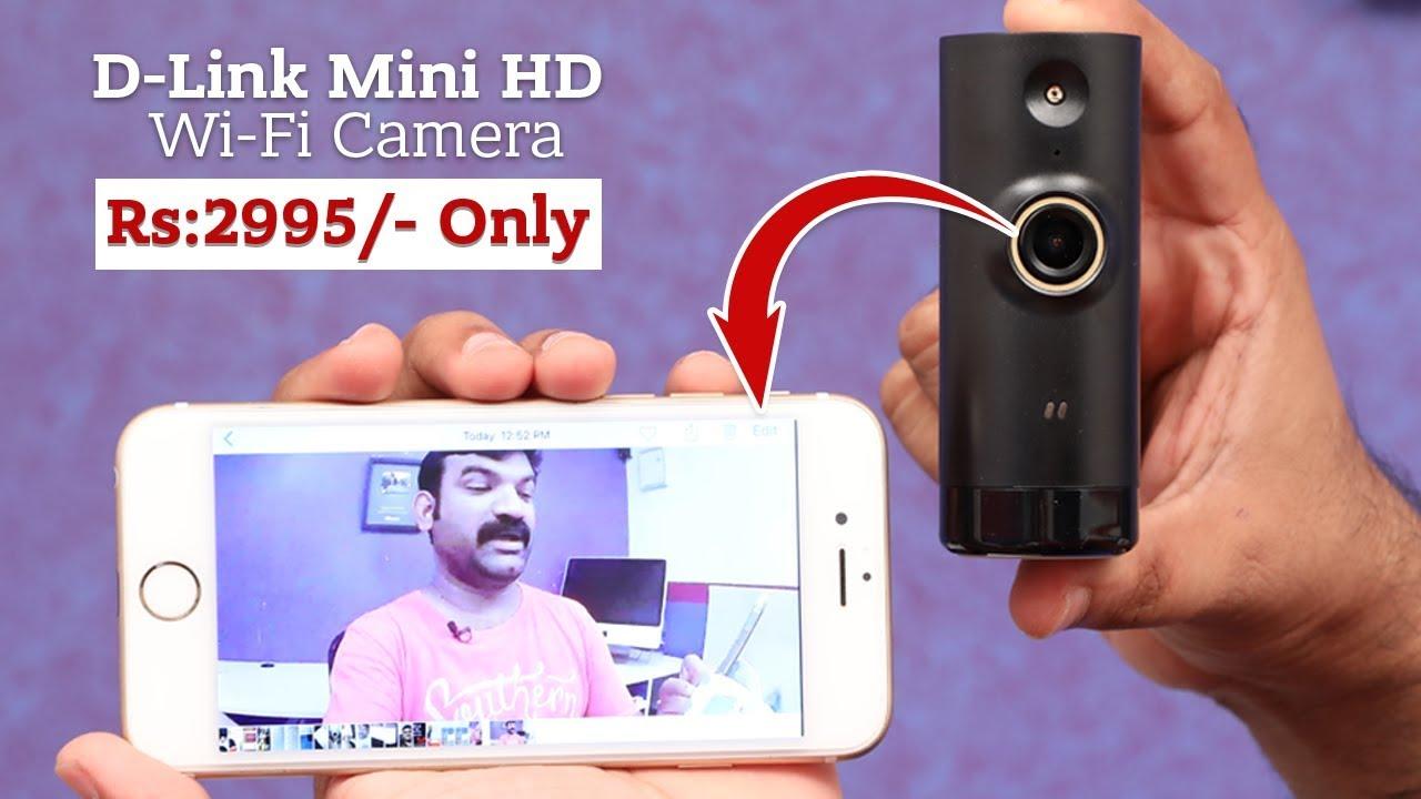 0c3afbc96f0 D link Mini Wifi Camera DCS-P6000LH - YouTube
