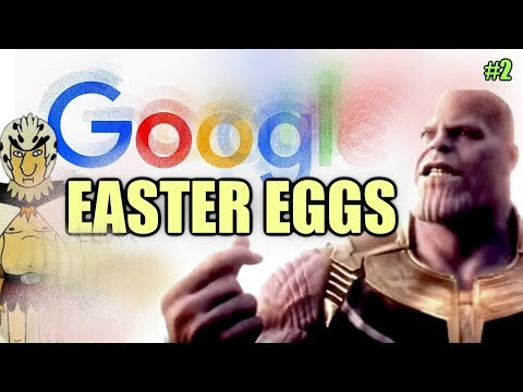 GOOGLE Easter Eggs, Secrets And Tricks #2