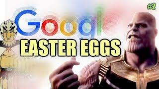 GOOGLE Easter Eggs, Secrets And Tricks #2