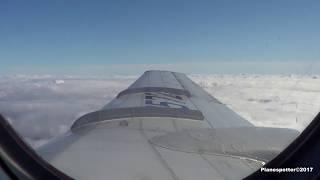 ТУ-134А-3 Полет ради полета. Калуга-Внуково. RA-65726