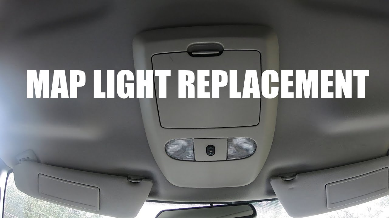 2008 Ford F150 Map Light Replacement