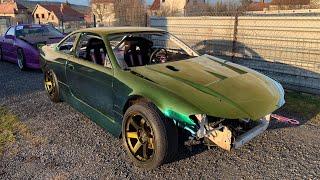 Jak nalakovat auto ? Nový lak ! #KRSTDRFT drift lifestyle vlog #278