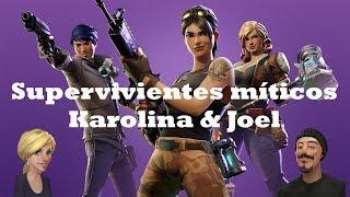 Mythical Survivors / Karolina & Joel Fortnite: Saving the World