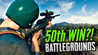 MY 50TH WIN?! - BATTLEGROUNDS (PUBG) w/ JackFrags