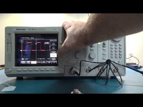 Great Tektronix Hobby Oscilloscope w/Repair Tips TDS 500 600 700