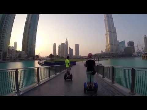 Dubai Segway Tour Downtown Burj Khalifa Full HD