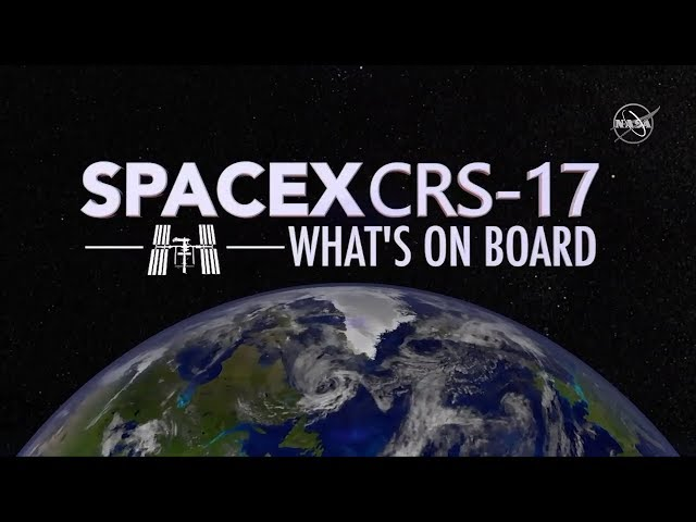 What is SpaceX Launching to the International Space Station?