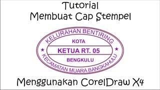 Tutorial Membuat Cap Stempel Menggunakan CorelDraw X4