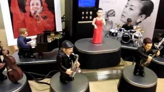 之前傻傻的在日本雅虎拍賣看到這個『應該』是會動會唱的美空雲雀公仔,...