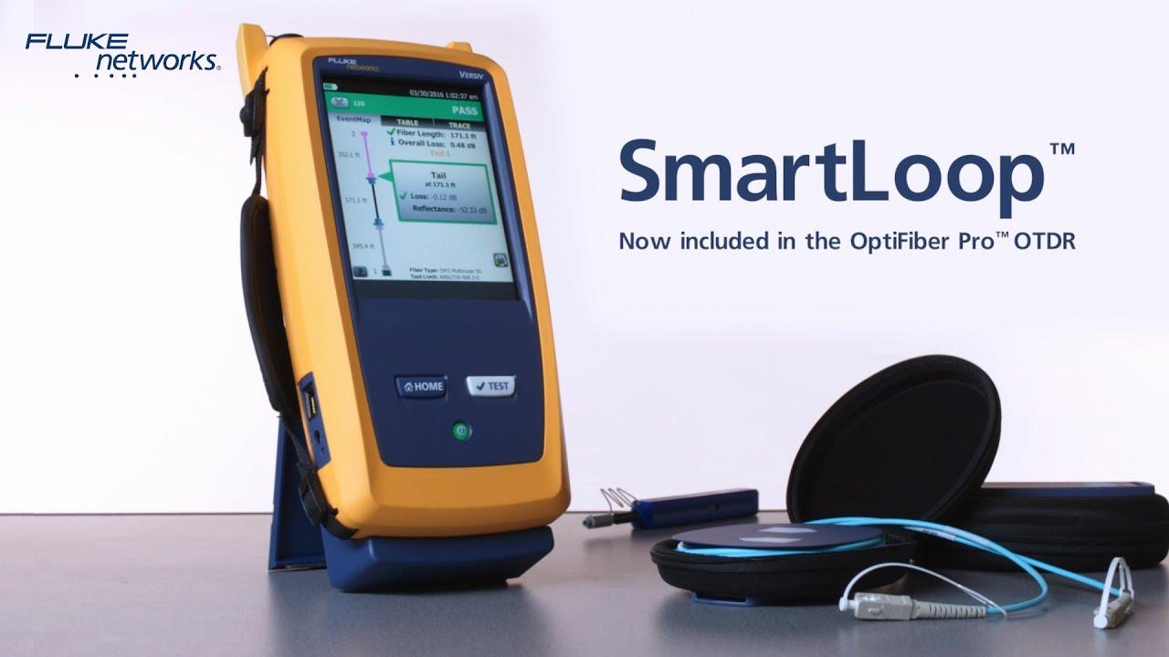 OptiFiber® Pro OTDR Fiber Optic Cable Testing Tool | Fluke Networks