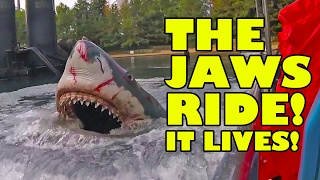 Jaws Ride Universal Studios AWESOME Multi Angle Complete Ride Through POV JAPAN 2017