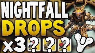 Destiny - NIGHTFALL DROPS x3 (Week 12)