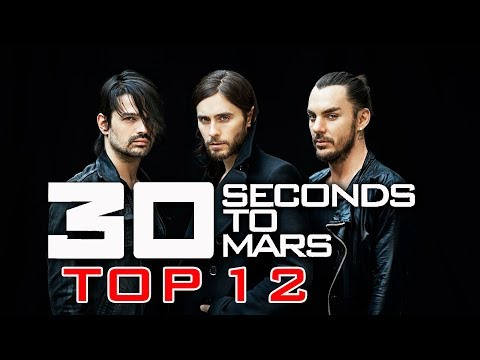 30 SECONDS TO MARS TOP 12 MEJORES CANCIONES  GREATEST HITS  WOW QUÉ PASA