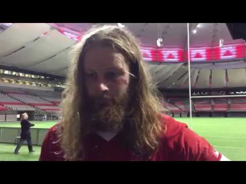 Canada vs Uruguay - RWC Qualifier Jan. 27, 2018 - Post match reactions from Evan Olmstead