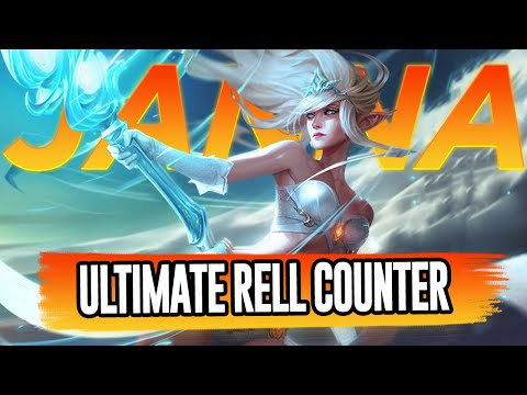 Janna Is The Ultimate Rell Counter + Some Orrn Support | Aphromoo