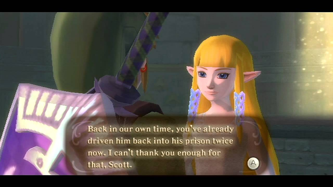 Does link ever hook up with zelda