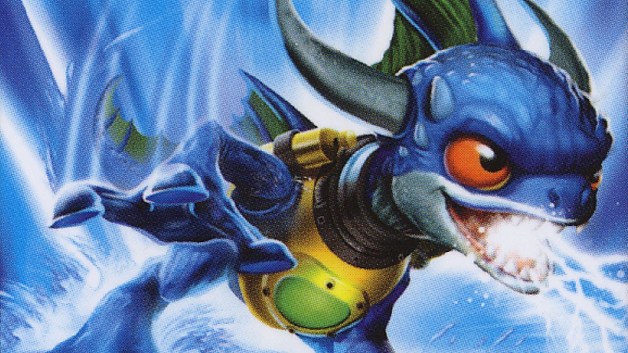 SKYLANDERS ZAP Figure Review