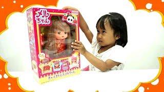 Baby Doll Rambutnya Bisa Berubah Warna 💖 Mainan Anak Boneka Bayi Mell Chan Lucu