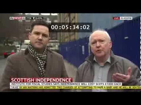 Eddie McGuire & Alan Bissett: SkyNews interview 28 Nov 2013
