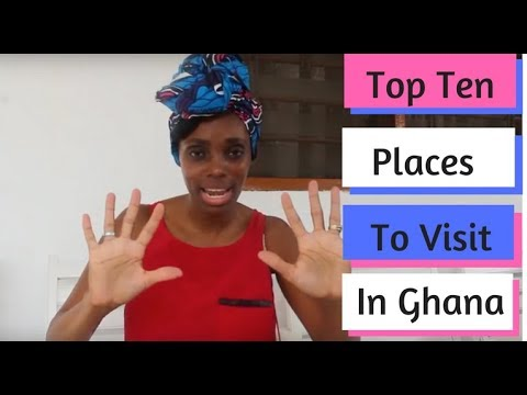 Top 10 Ghana Travel Destinations