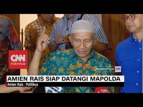 Hari Rabu, Amien Rais akan Ungkap Fakta Kasus Ratna Sarumpaet & Korupsi di Mapolda
