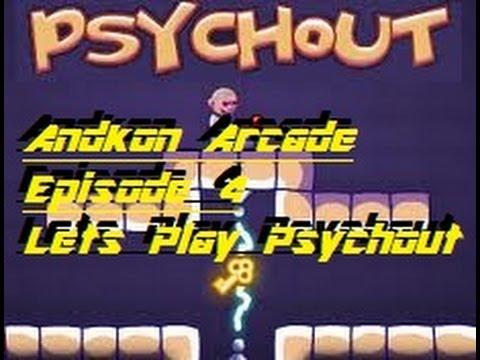 Andkon Arcade Episode 4 - Lets Play - Psychout