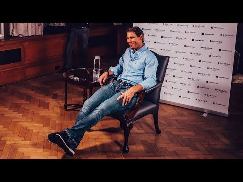 """RAFA NADAL in London 🎾 """"I will just fight to win my first match of the year against"""" ROGER FEDERER !"""