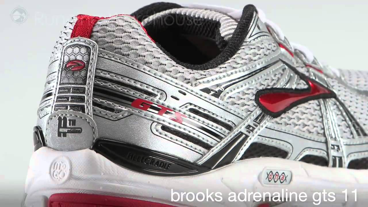 Brooks Adrenaline GTS 11 Men - YouTube