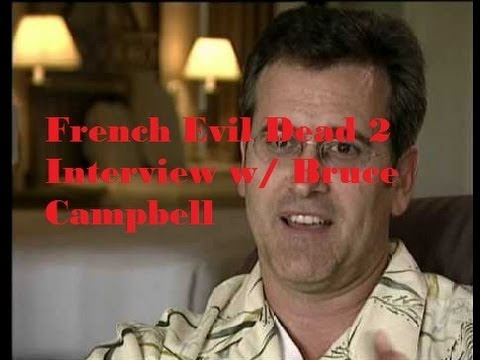 Bruce Campbell Rare Evil Dead 2 Interview