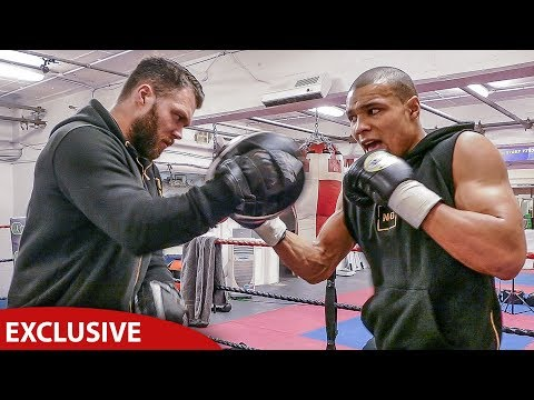 EXCLUSIVE: Inside Chris Eubank Jr TRAINING CAMP | FULL INTENSE WORKOUT SESSION