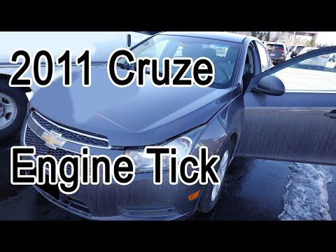 2011 Chevy Cruze Engine Tick Noise P0300 P0302