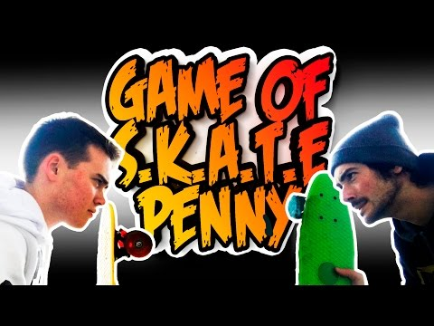game of S.K.A.T.E. penny board