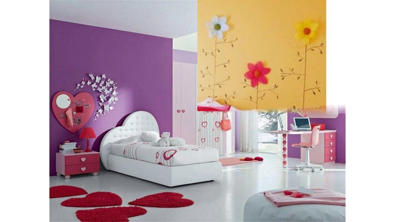 Ideas para pintar dormitorio de ni as youtube - Ideas pintar dormitorio ...